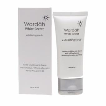 Wardah White Secret Exfoliating Scrub - 40 ml