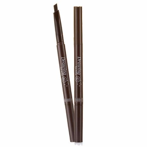Wellness Pensil Alis dan Sikat 03 Brown