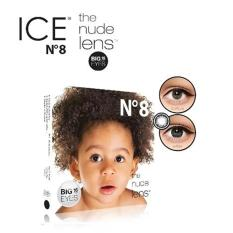 X2 Ice Nude N8 Softlens by Exoticon - Black + Free Lenscase