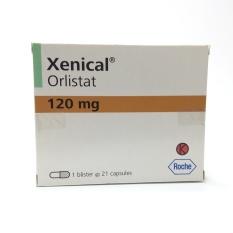 Xenical Orlistat 120mg - Obat Pelangsing / Penghancur Lemak