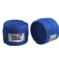 2pcs/roll Cotton Bandage Sports Absorb Sweat Boxing Binding Protect Belt Hand Wraps White - intl