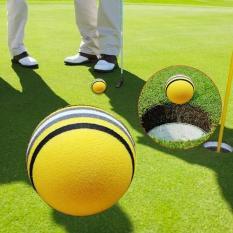 50 Buah Kuning Spons Bola Golf Dalam Praktek Pelatihan Luar Ruangan Cahaya Banyak .
