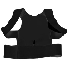 Adjustable Magnetic Power Posture Back Support Correction Belt Band Posture Corrective Brace Body Shaper Strap For Women & Men M - intl