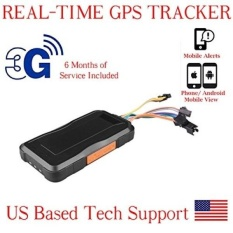 Aes Gte G Gps Tracker Gsm Wcmda Sms Gprs Mini Portable Vehicle Locating Tracking Device Pre Activated Sim Card With  Months Service Included Intl