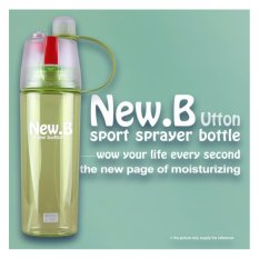 Babamu Botol Olahraga Spray - New Arrival 400ml Bottle NEW.B Sport Water Bottles / Hijau