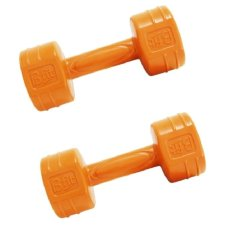 Bfit Cement Dumbell Barbell 1kg - 2pcs