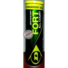 BOLA TENNIS DUNLOP FORT ALL COURT ISI 4 ORIGINAL