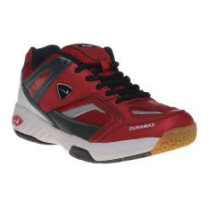Eagle Metro Sepatu Badminton - Merah-Hitam
