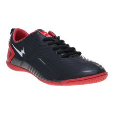 Eagle Oscar Sepatu Futsal - Black-Red