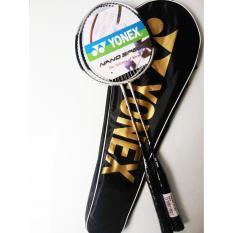 Ganda (2 buah) New Yonex Arcsaber 7 Silver Raket Badminton