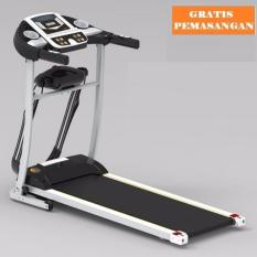 Gratis Ongkir Jabodetabek - Karawang - Serang Sports Treadmill Elektrik Venice M8 White