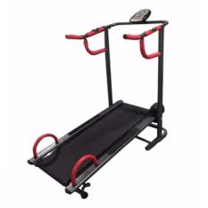 Hanatha - Treadmill Manual 2 Fungsi type HATM002 - Best seller product - Alat Fitness