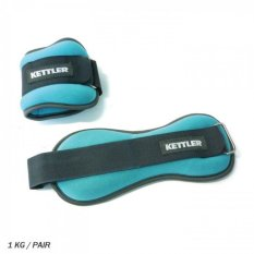 Kettler Foot Band 1kg/pair 0913-000 1kg- Biru