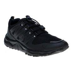League Kumo 1.5 M Sepatu Lari - Hitam-Nine Iron-Silver
