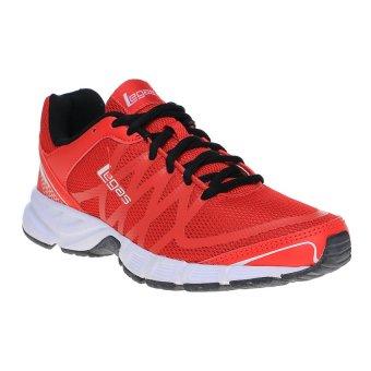 League Kumo 15 M Sepatu Lari Pria Flame Scarlet Burgundy - Daftar ... 67b848df24