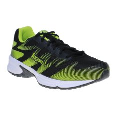 League Legas Series Shadow LA M Sepatu Lari Pria - Black-Lime Punch-White