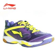 Li-Ning Badminton Shoes Champion - Ungu/Hitam