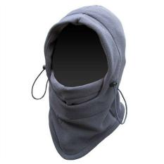 Moreno Masker Buff Balaclava Multifungsi 6in1 Masker Full Face Kupluk Ninja - Abu abu