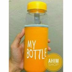 My Bottle Only / Botol Minum Transparan / Infused Water / Botol Tritan - Orange