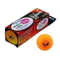 OHOME Bola Tenis Meja MS-PP-3 Ping Pong Ball 3 Pcs - Kuning