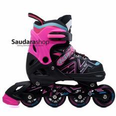 Power King Sepatu Roda Inline Skate PINK / Sepaturoda Inlineskate Roda Full Karet PINK
