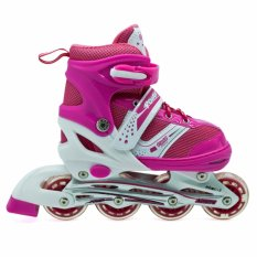 Power Sepatu Roda Inline Anak - Pink / Sepaturoda Inline Skate Anak - Pink