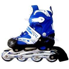 Power Sport in Line Skate Sepatu Roda - Biru L (38 - 42)