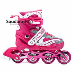 Power Superb Sepatu Roda Inline - Pink