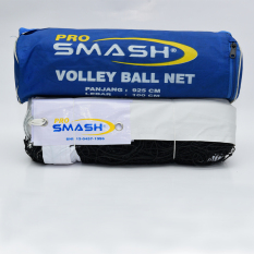 Pro Smash Net Volly (Hitam)