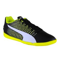 Puma Adreno III IT Men's Shoes - Puma Black-Puma White-Safety Yellow