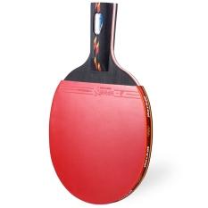 REGAIL D003 Tenis Meja Ping Pong Kelelawar Penhold Bet Raket Satu Bola (Merah)