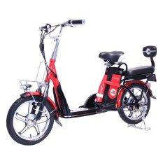 Sepeda Listrik JEF E'Bike Red - Gratis Pengiriman JADETABEK