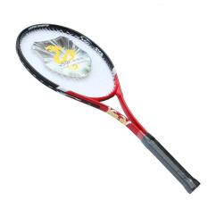 Serat Karbon Raket Tenis (Merah)