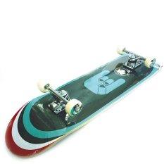 Silverfox Skateboard Maple 31X8 Blu-Grn Fingers LY-3108AA-Y31-11