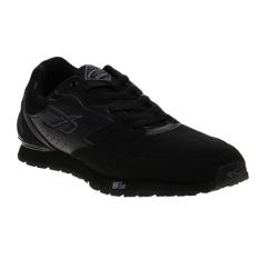 Spotec Colombus Sepatu Lari - Black/Black