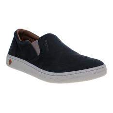 Spotec Futton Leather Sepatu Sneakers - Hitam-Abu-abu Muda