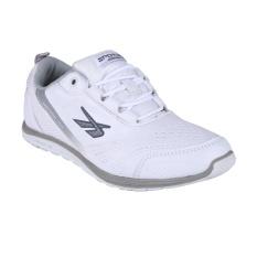 Spotec Move On Sepatu Sneakers Olahraga - Putih/Abu-Abu