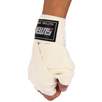 SUTEN 1 Pasang Lebar 5 cm Panjang 2.5 M Boxing Kapas Perban Sanda Handwrap