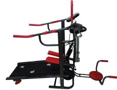 TOTAL FITNESS Treadmill Manual 6 Fungsi TL 004 - Hitam-Merah