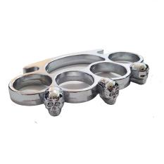 Universal Trekling Keling Knuckle Tengkorak - Silver