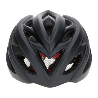 Vanker-New Durable Outdoor Sports Bike Helmet Cycling MTB Bike Safety Adult Integral Forming EPS PC Black - intl