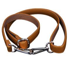 120cm Long PU Leather Adjustable DIY Replacement Handbag Purse Bag Strap Shoulder Strap Cross-Body Strap With Buckle Brown