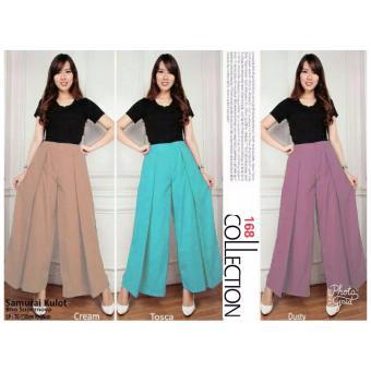 168 Collection Celana Kulot Katrina Long Pant-Tosca