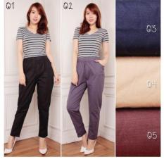 ... Harga Spesifikasi 168 Collection Celana Tara Jumbo Pant Hitam Source 168 Collection Celana Simple Long Pant