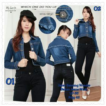 168 Collection Jaket Little Cowboy Jeans-Biru 02