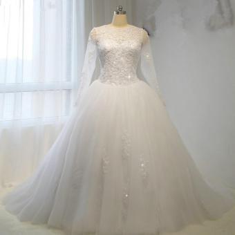 1701014 Gaun Pengantin Merah Wedding Gown Wedding Dress