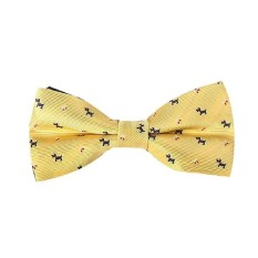 2016 Bowtie Formal Neckwear Bow Tie Party Wedding Mens Solid Silk Bow Ties For Men Accessories Butterfly Cravat Yellow