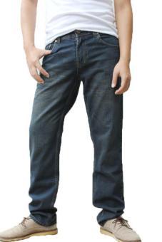 2nd Red 260144 Jeans FS Wisker - Biru-Abu-abu