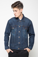 2nd Red 191209 Jacket Jeans - Blue Soft Spray