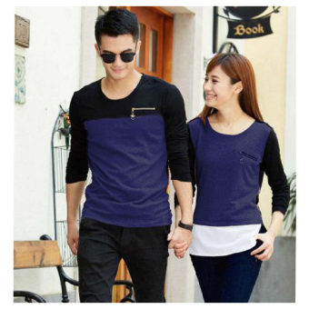 369 Couple Zip Blue